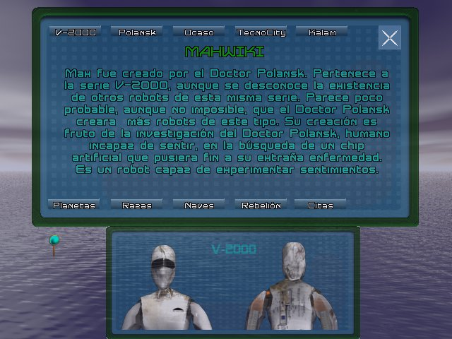Imagen y descripción de Max V-2000