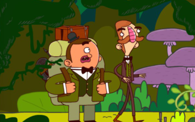 Adventures of Bertram Fiddle: Episode 1: A Dreadly Business (Rumpus, 2014)