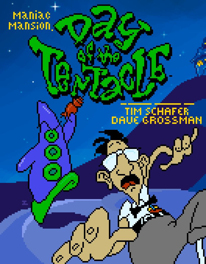 Day of the Tentacle (Ricardo Marichal)