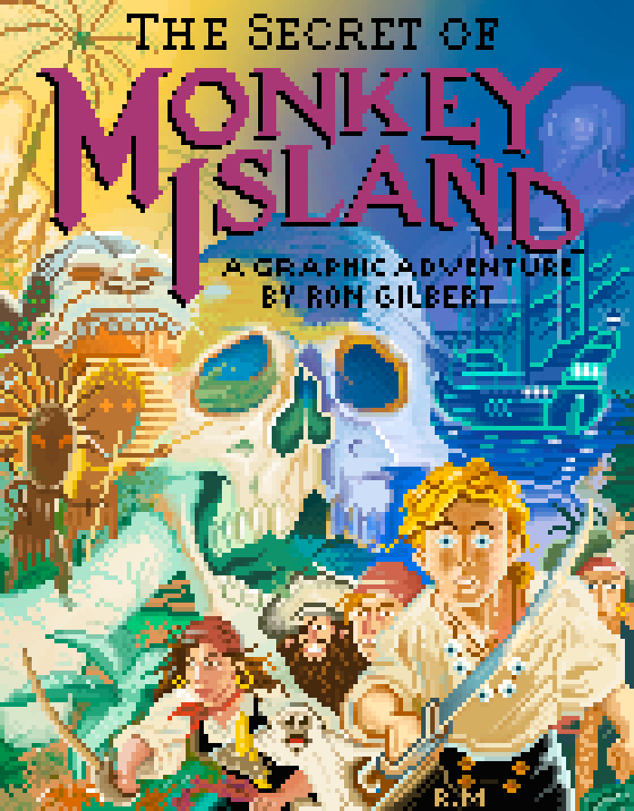 The Secret of Monkey Island (Ricardo Marichal)