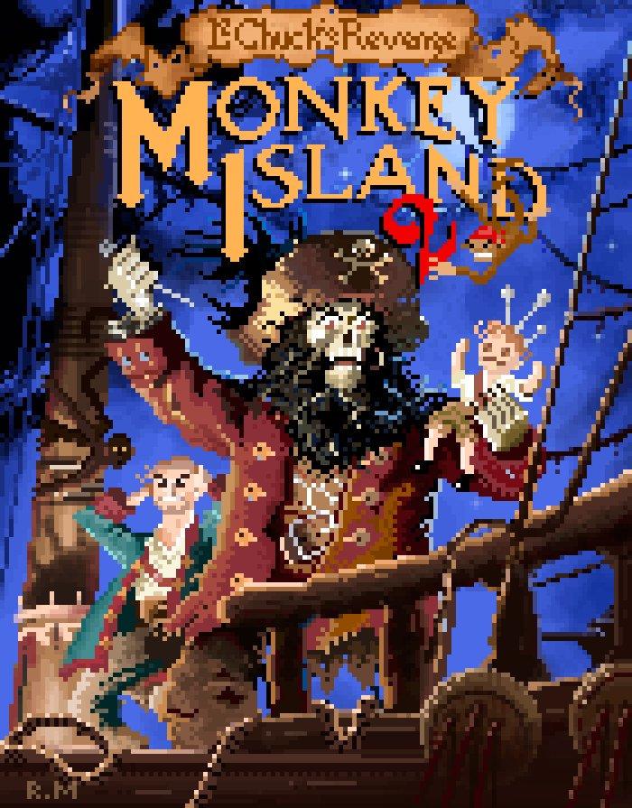 Monkey Island 2 (Ricardo Marichal)