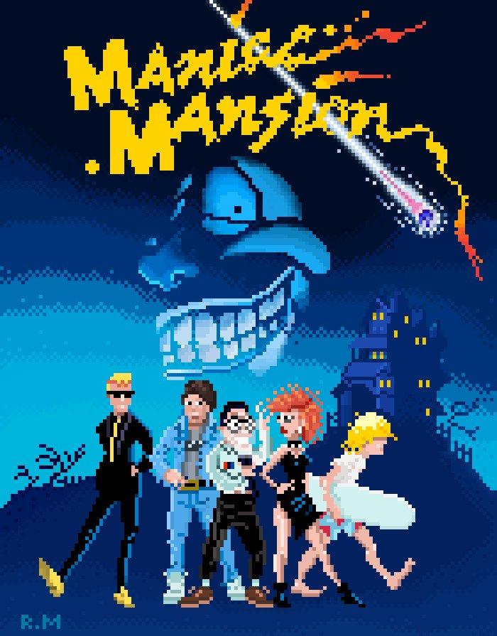 Maniac Mansion (Ricardo Marichal)